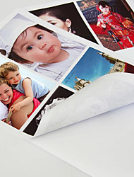 cheap -50pcs a Bag Self-adhesive Photo Paper Inkjet Photo Paper A4 Photo Sticker Pasteable Waterproof High-gloss Photo Paper