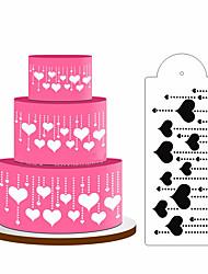 abordables -4 piezas de aerosol de pastel flor de azúcar en polvo tamiz herramienta de horneado diy decoración de pastel de encaje