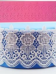 cheap -1pcs Cake Fondant Lace Pad DIY Baking Decoration Mold