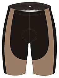 cheap -21Grams Men's Cycling Shorts Bike Shorts Padded Shorts / Chamois Pants Breathable 3D Pad Quick Dry Sports Brown+Gray Mountain Bike MTB Road Bike Cycling Clothing Apparel Bike Wear / Stretchy