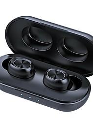 cheap -9D Stereo Music In Ear Gaming Earphones 300mAh B5 Bluetooth True Wireless Headphones 5.0 TWS Touch Control Waterproof HD Call Headset