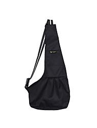 cheap -Cat Dog Carrier Bag Travel Backpack Shoulder Messenger Bag Sling Shoulder Bag Portable Foldable Solid Colored Terylene White / Red Stripe White / Blue