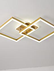cheap -90 cm Geometric Shapes Flush Mount Lights Aluminum Painted Finishes Artistic / LED 110-120V / 220-240V
