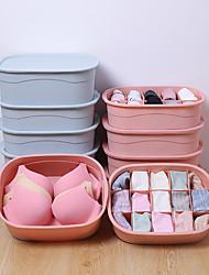 cheap -PVC Closet cloth storage Organizers Rectangle box home household convenient box multi-lattice