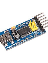 cheap -FTDI Mini USB to TTL FT232RL Serial Adapter Module 3.3V 5V Port Serial