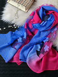cheap -Short Sleeve Scarves Chiffon / Organza Wedding / Party / Evening Shawl & Wrap / Women's Scarves With Printing / Hollow-out