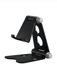 cheap -Foldable Adjustable Phone Holder Stand Desktop Multi-Angle Adjustable Desktop Holder with Anti-Slip Base and Convenient Charging Port, Fits All Smart Phones