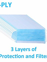 cheap -100 pcs  Face Mask Portable / Dust Proof / Disposable Health Care / Anti-Dust / Protection Nonwoven Fabric Daily Wear / Office & Career Universal / Face / Casual / Daily