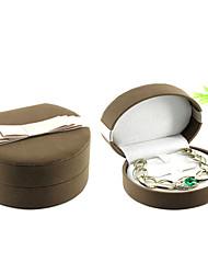 cheap -Jewelry Box - Leather Brown 9.7 cm 11 cm 5.7 cm / Women's