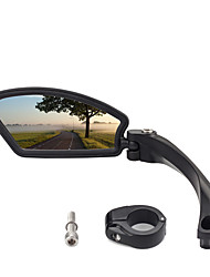 cheap -Bike Mirror Easy to Install Cycling Bicycle motorcycle Bike ABS+PC Black