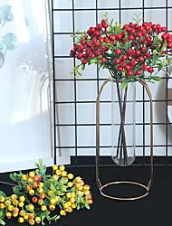 Недорогие -1шт ягодный росток искусственный цветок, держа цветок дорога ведущий цветок