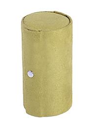 Недорогие -Квадратный Шкатулка - Кожа Светло-розовый, Черный, Красный 7.5 cm 7.5 cm 13 cm / Жен.