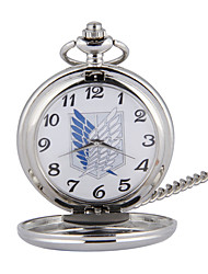 cheap -Unisex Pocket Watch Quartz Casual Creative Analog - Digital Silver / Titanium Alloy