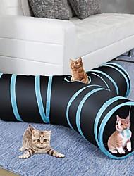 Недорогие -Трубы и туннели Подходит для домашних животных Нержавеющая сталь / Полиэстер Назначение Собаки / Коты / Животные