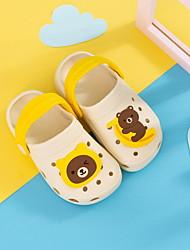 Недорогие -Девочки Удобная обувь ПВХ Сандалии Малыш (9м-4ys) Черный / Желтый / Розовый Весна