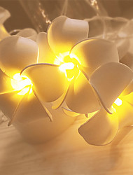 cheap -Plumeria String Light LED String Light Lantern Decoration Ins Artificial Flower String Light