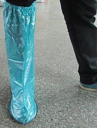 cheap -PVC(PolyVinyl Chloride) Shoe Cover Unisex Sports & Outdoor Blue