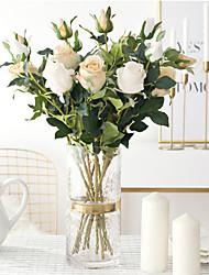 Недорогие -Искусственные цветы Пластик европейский Букет Букеты на стол Букет 1