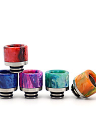 cheap -YUHETEC 510 Universal Stainless Steel Resin Drip Tip for ijust S/TFV8 baby/ Stick M17/MELO 4 D25 Mini/Ammit 25/Creed RTA Atomizer 1PCS