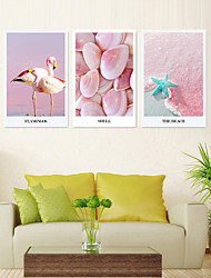 cheap -5 Pieces Printing Decorative Painting  Oil Painting  Home Decorative Wall Art Picture Paint on Canvas Prints 40x60cmx3 Animals Floral