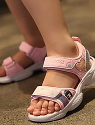 cheap -Girls' Comfort Canvas Sandals Little Kids(4-7ys) Purple / Pink Summer