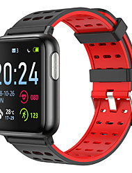 cheap -V5 Unisex Smartwatch Android iOS Bluetooth Waterproof Heart Rate Monitor Blood Pressure Measurement Distance Tracking Information ECG+PPG Pedometer Call Reminder Activity Tracker Sleep Tracker