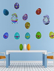 cheap -Easter bunny Decorative Wall Stickers - Plane Wall Stickers Holiday Indoor