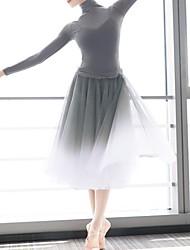 cheap -Ballet Skirts Pleats Women's Training Polyester