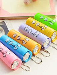 cheap -Coin Holder Plastic Storage Dual Side Coins Canister Canister Cartoon Convenience With Cover Gifts