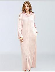 Недорогие -Жен. Бебидол / маечка Ночное белье Винный Розовый Хаки M L XL