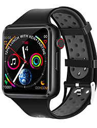 cheap -C5 Unisex Smartwatch Android iOS Bluetooth Waterproof Heart Rate Monitor Blood Pressure Measurement Distance Tracking Information Pedometer Call Reminder Activity Tracker Sleep Tracker Sedentary