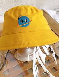 cheap -Kids Girls' Cartoon Hats & Caps Yellow / Blushing Pink / Green One-Size