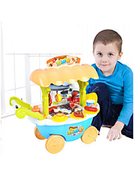 cheap -Pretend Makeup Set Pretend Makeup Play Creative Family Shopping Cart Hand-made Decompression Toys Parent-Child Interaction Plastic Shell Child's Toddler All Toy Gift 28 pcs
