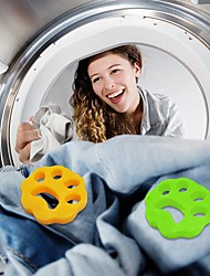 cheap -2 Pcs Pet Hair Remover Washing Machine Reusable Laundry Fur Catcher Cleaning Products Accessories