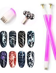Недорогие -1шт Металл Аксессуары для ногтей Многофункциональный Милая Мода Повседневные УФ-гель для Маникюр Педикюр