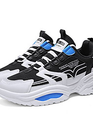 Недорогие -Муж. Сетка Весна Спортивная обувь Контрастных цветов Желтый / Зеленый / Синий