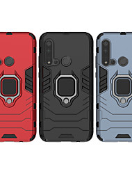 cheap -Case For Huawei scene map Huawei P30 P30 Lite P30 Pro Iron Man series invisible ring bracket PC TPU 2-in-1 armor anti-fall phone case