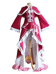 cheap -Inspired by Re:Zero Starting Life in Another World kara hajimeru isekai seikatsu Beatrice Anime Cosplay Costumes Japanese Cosplay Suits Top Dress Shawl For Women's / Stockings / Tutus