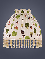 cheap -Lampshade Cute / Ambient Lamps / Decorative Artistic / Modern Contemporary For Girls Room / Kids Room White