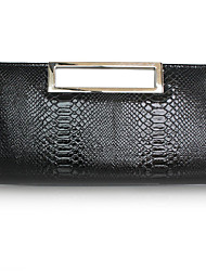 cheap -Women's / Girls' Sequin PU Evening Bag Solid Color White / Black