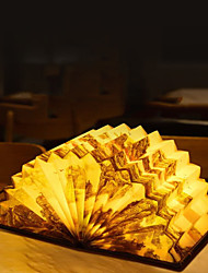 Недорогие -2 шт. Вентилятор книга лампа украшения свет интеллектуальный голос светодиодный ночной свет приложение управления голосовое управление приложение контроля защиты глаз прикроватная лампа usb