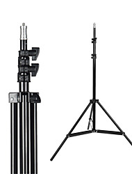 cheap -2.1m Light Stand Tripod With 1/4 Screw Head with Camera Tripod Lamp Holder Flash Bracket for Godox Flash video light DSLR Camera