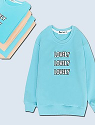 cheap -Mommy and Me Letter Hoodie & Sweatshirt Yellow
