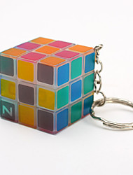 cheap -Key Chain Mini Cube Key Chain Cute Mini Style Plastics Adults Children's Unisex Toy Gift 1 pcs