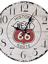 Недорогие -Ретро настенные часы ностальгические настенные часы украшения