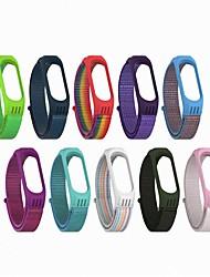 Недорогие -примените просо кольцо для рук 3/4 общий нейлоновая петля назад ремешок часов силиконовой оправе