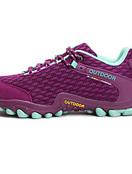 cheap -Women's Hiking Shoes Mountaineer Shoes Breathable Anti-Slip Wearproof Camping / Hiking Hunting Hiking Spring Summer Fall Purple Pink Grey / Climbing