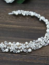 cheap -Rhinestone / Alloy Headbands with Sparkling Glitter / Glitter / Floral 1 pc Wedding / Birthday Headpiece