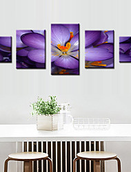 cheap -5 Panels Modern Canvas Prints Painting Home Decor Artwork Pictures DecorPrint Rolled Stretched Modern Art Prints Nature Floral