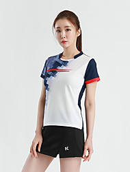cheap -Women's Clothing Suit Short Sleeve Tennis Golf Sports Outdoor Summer / High Elasticity / Quick Dry / Breathable
